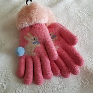 Other - ADD ON for $2: Kids Bunny Gloves